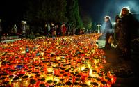 Краковское кладбище в День Всех Святых