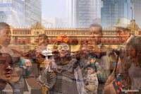 Многослойные фото, запечатлевшие энергию 10 самых потрясающих мегаполисов мира