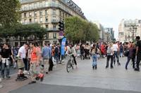Улицы Парижа в сентябре