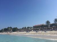 Пляж на Кубе