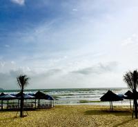 My Khe Beach в апреле