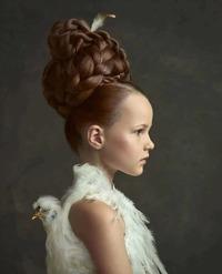 Многодетная мама из Голландии создает фотопортреты в стиле старинных мастеров
