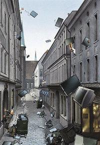 30 брутальных и честных иллюстраций Герхарда Хадерера о современном обществе