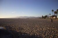 Вечер на пляже Венис