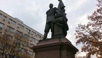 Памятник Николаю II в Белграде