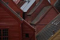 Крыши домов в на Ганзейской набережной