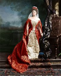 Самые красивые женщины царской России в колоризированных архивных фото