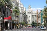 Валенсия, прогулка по улицам города