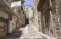 Узкие улочки Старого Иерусалима
