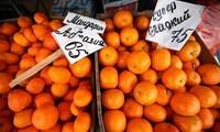 Фруктовый рынок в Абхазии