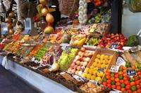 Рыночные прилавки в Мадриде
