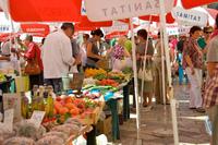 Хорватия, утренний рынок