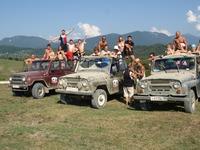 Джип-тур по горам Абхазии