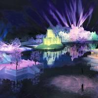 Ледовое шоу в Харбине