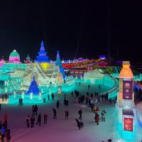 Ледовое шоу Китай