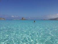 Пляж La Pelosa - итальянские Карибы