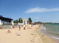 В Евпатории отличные пляжи