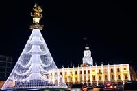 Елка в Тбилиси