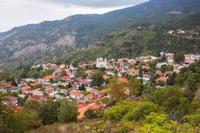 Деревня в горах Троодос