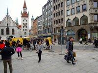 Один из пасмурных дней в Мюнхене