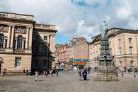 Эдинбург: в направлении к Королевской мили