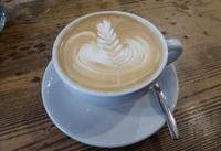 Обычный кофе в обычном кафе