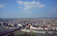 Панорама Будапешта с холма