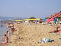 Один из песчаных пляжей Феодосии
