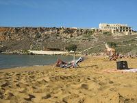 Мальта: отдых на песчаном пляже