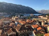 Отдых в Черногории в сентябре, вид на город Будва