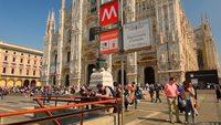 Милан: собор Дуомо