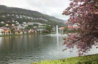 Весна в Бергене (Норвегия)