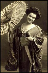 Гейши-гайдзин: портреты иностранных обольстительниц в Японии начала 20-го века