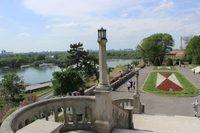 Прогулка по парковой зоне в Белграде