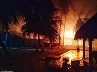 Как рай превратился в ад: в шикарном отеле на Мальдивах произошел пожар