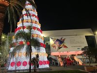 Новогодняя елка в Каннах, январь 2019