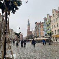 Новогоднее убранство Гданьска, январь 2019