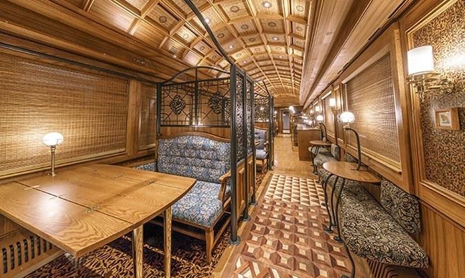 В 2020 году в Японии начнет курсировать самый роскошный поезд