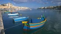 Мальта в январе — набережная
