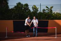 Рафаэль Надаль посетил открытие теннисного центра в Мексике