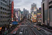 Улица Токио в августе
