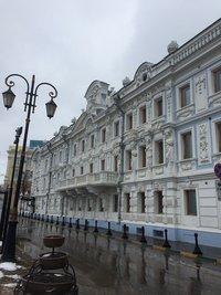 Одна из улиц Нижнего Новгорода весной