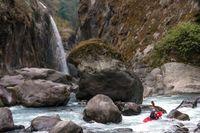 Экстрим фото недели: Каякинг в Непале