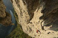 Экстрим фото недели: Подъем Мэтта Сигала на китайскую Большую Арку