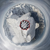 Эпическая фотосъемка: 150-ая годовщина восхождения на гору Маттерхорн