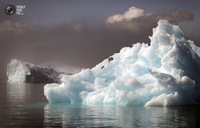 8 фотографий необыкновенно красивых ледяных островов