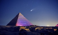 Что находится за Египетскими пирамидами?