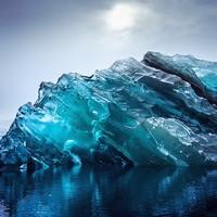 Редкие сюрреалистичные снимки айсбергов