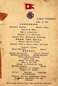 Дело статуса: что ели на Титанике пассажиры разных классов