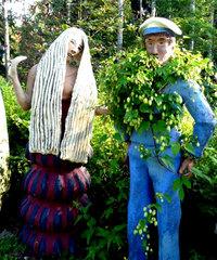 12 ошарашивающих снимков «волшебного леса» в Финляндии: место из ночных кошмаров